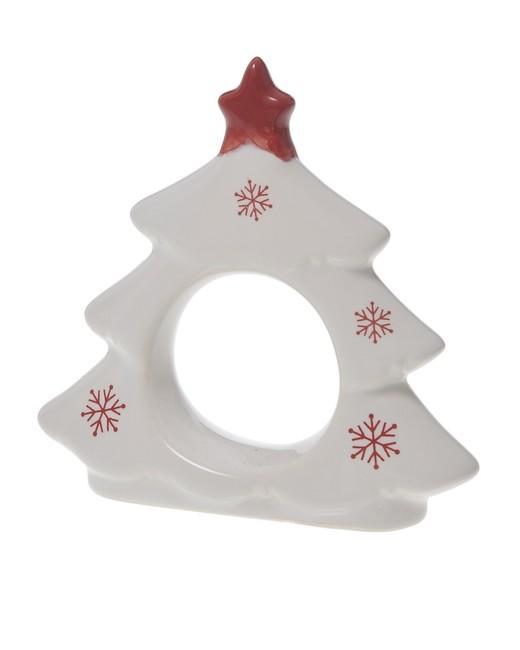 Vianočný držiak na servítky stromček