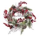 Vianočné a zasnežené vence