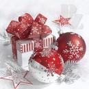 Vianočné servítky, tašky a darčekové krabičky