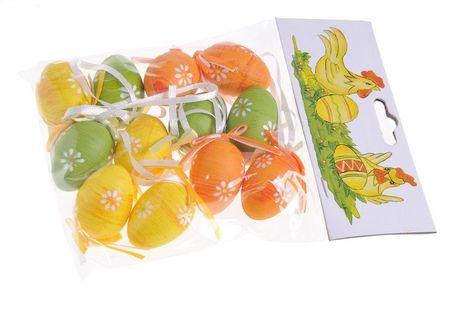 Balenie veľkonočných vajíčok Happy Easter 12ks