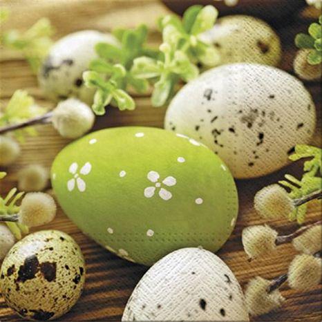 Dekoračné servítky Easter egg