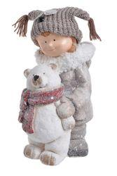 Dievčatko s medvedíkom XL