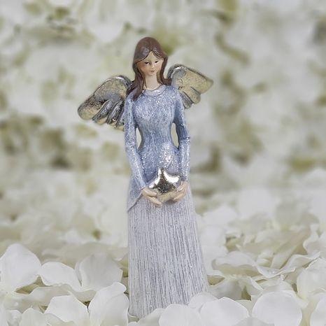 Keramický anjel Vintage