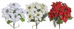 Kytica vianočných ruží rôzne farby