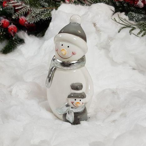 Párik snehuliakov Metallic S
