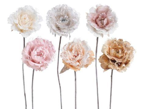 Ruža s čipkou 62cm