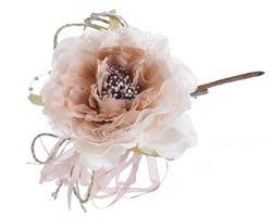 Ruža s čipkou na štipci mix