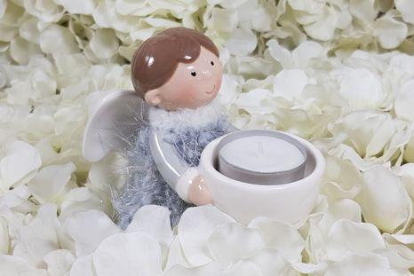 Svietnik anjelik Grey